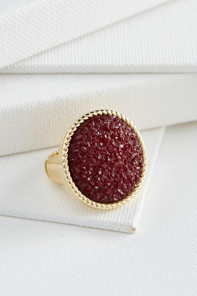 Chipped Stone Cocktail Ring