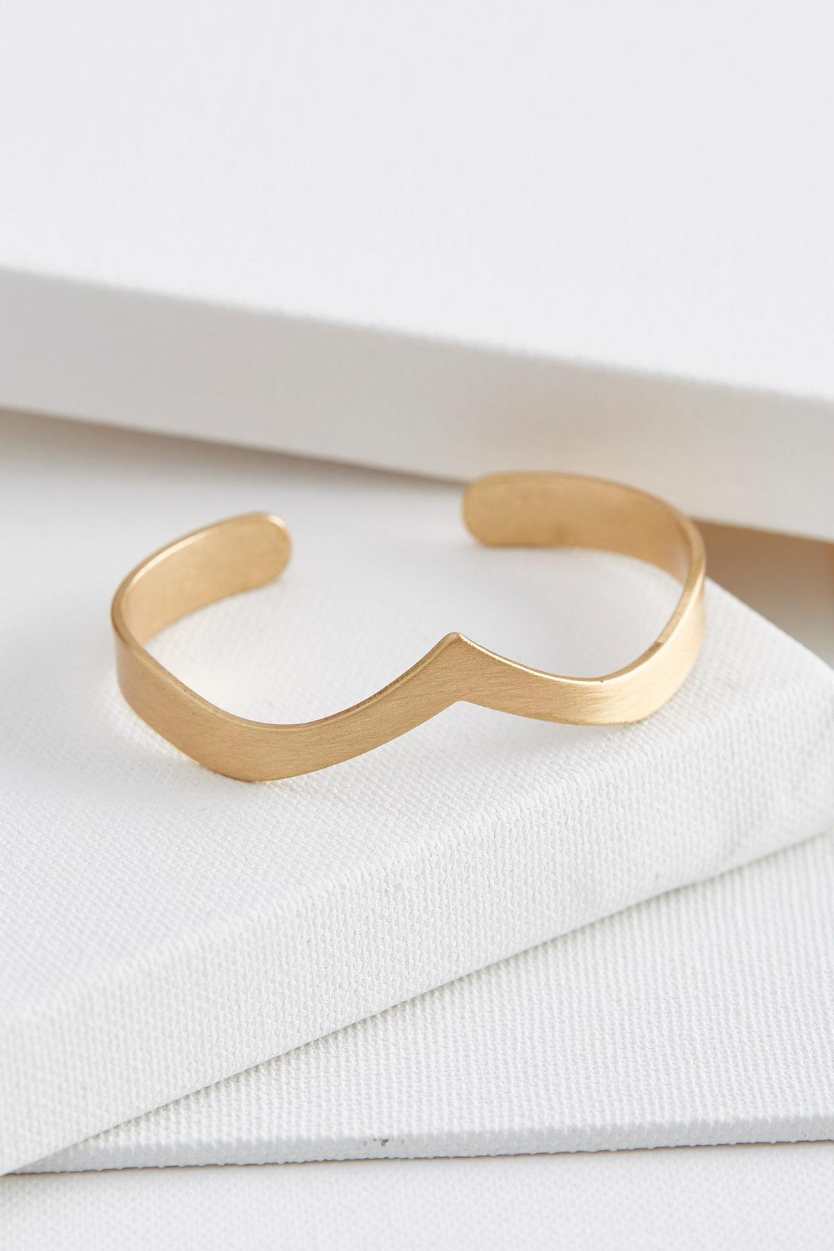 V Cuff Bracelet