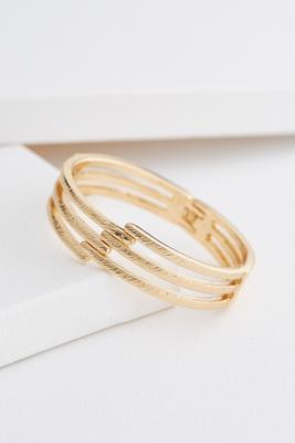 triple prong cuff bracelet