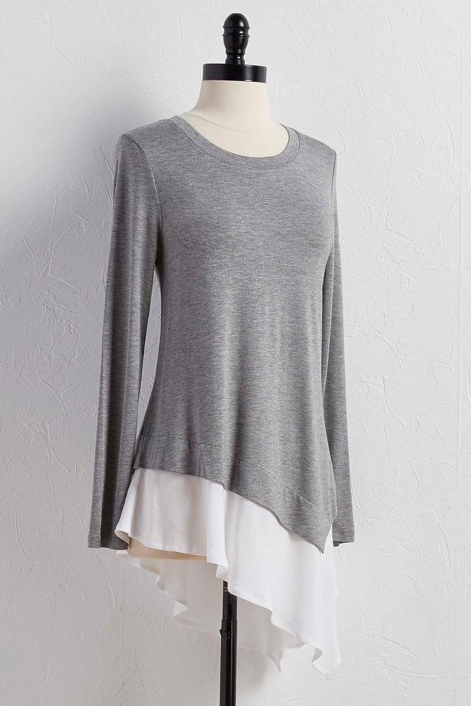Layered Asymmetrical Tunic