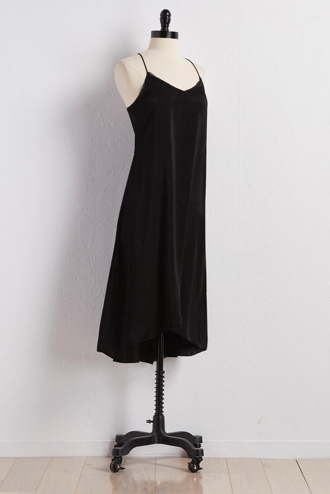 High- Low Slip Dress