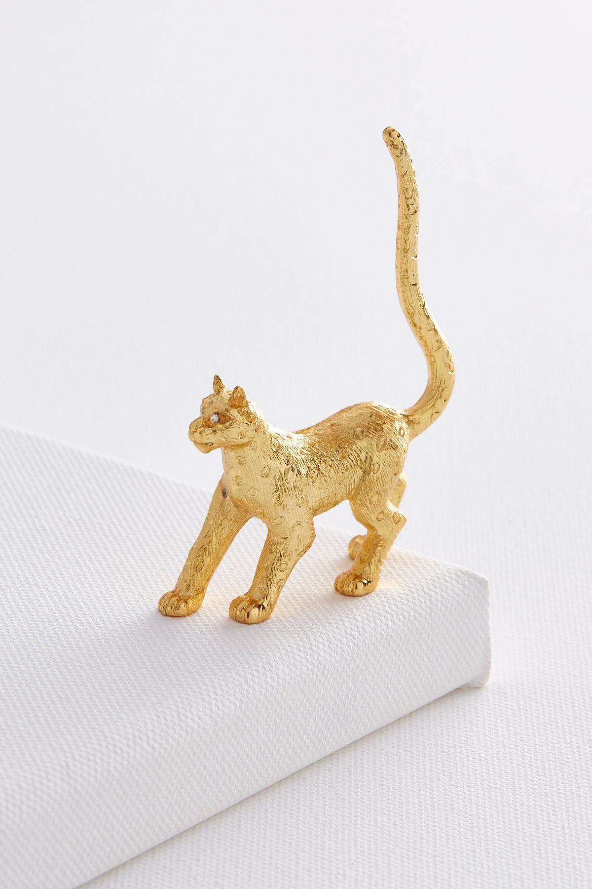 Cheetah Ring Holder