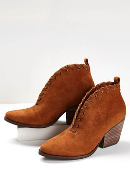whipstitch split vamp shooties