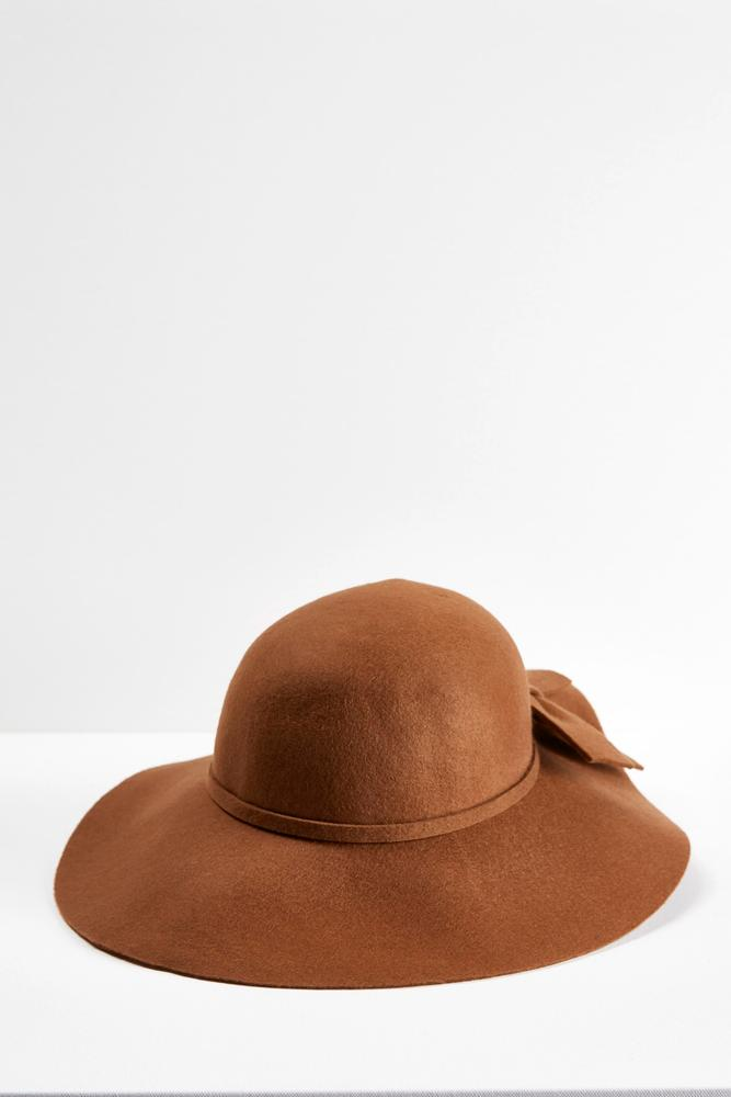 Bow Band Floppy Hat