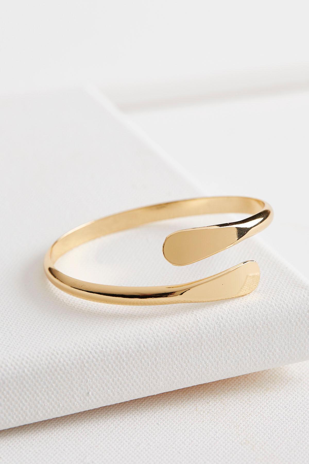 Flat Edge Wrap Cuff Bracelet