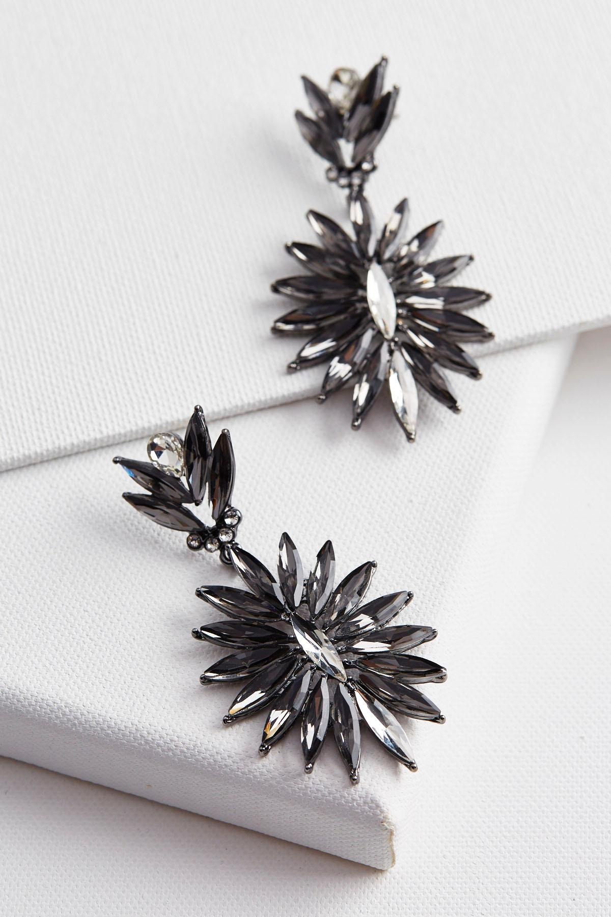 Flower Burst Statement Earrings