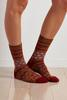 Mixed Print Boot Socks