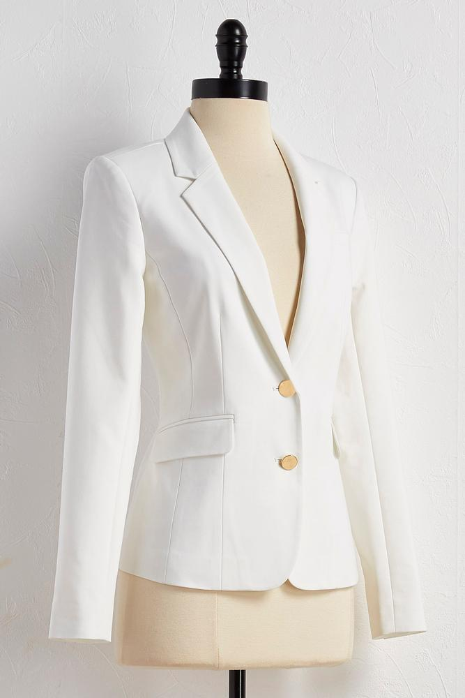 Everyday Double Button Blazer