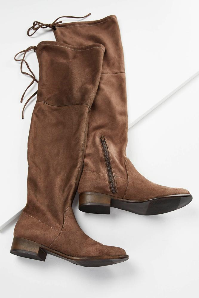 Over The Knee Drawstring Boots