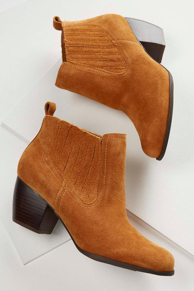 Gored Ankle Boots
