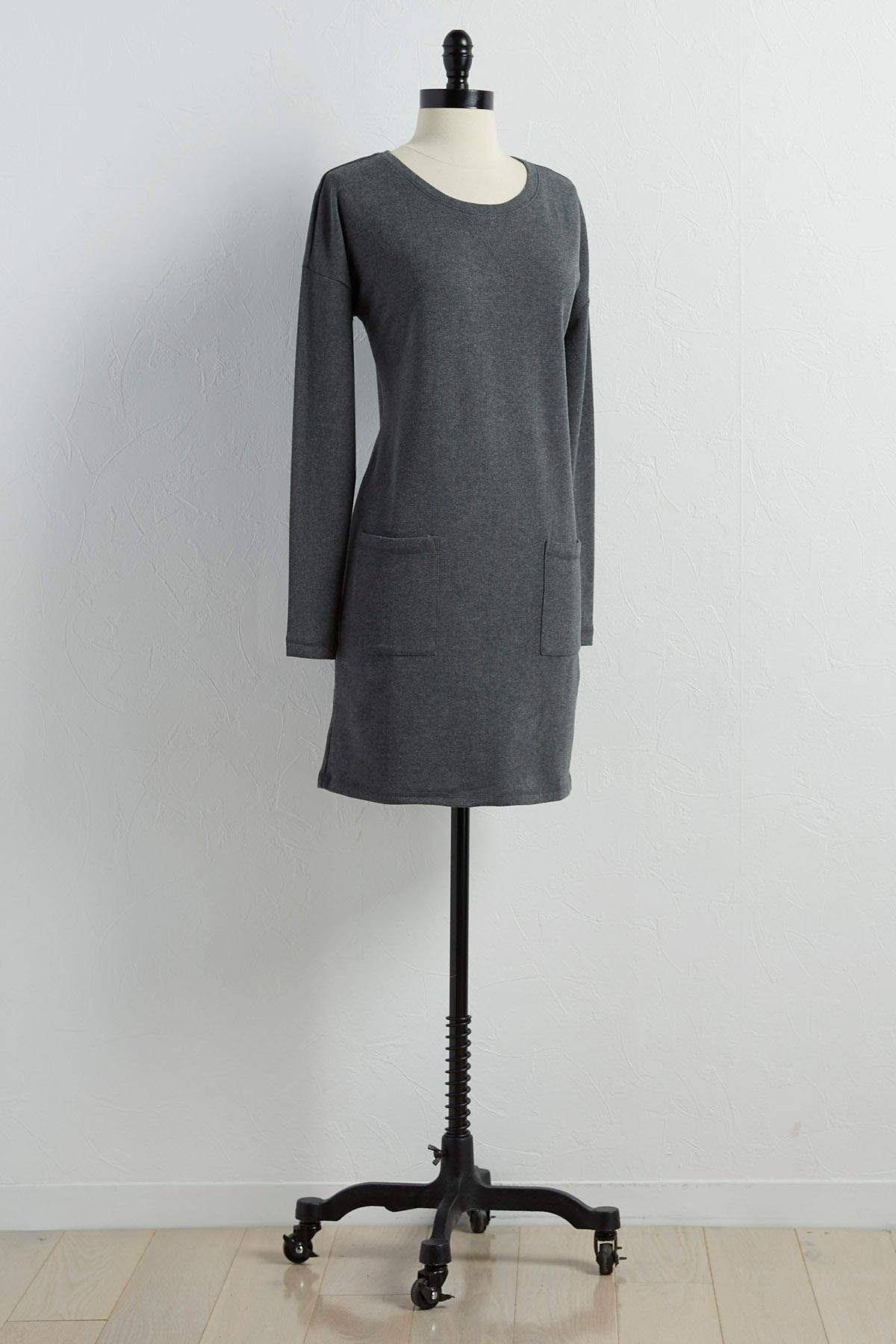 Sweatshirt Shift Dress