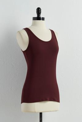 reversible scoop neck tank