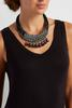 Embellished Lace Cord Necklace