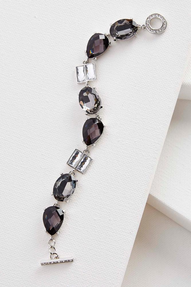 Mixed Stone Toggle Bracelet