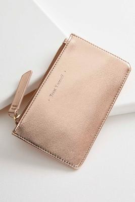 treat yourself mini wallet