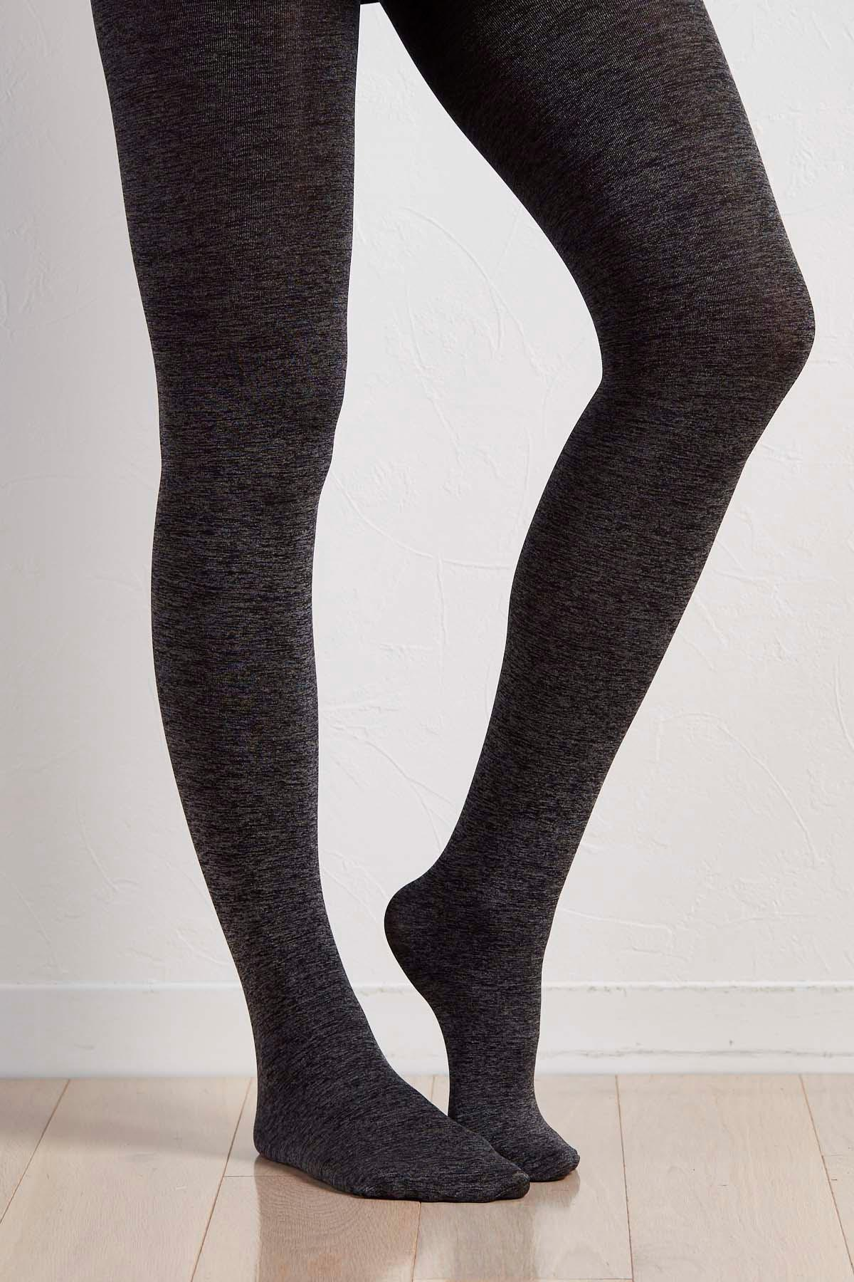 Space Dyed Opaque Tights