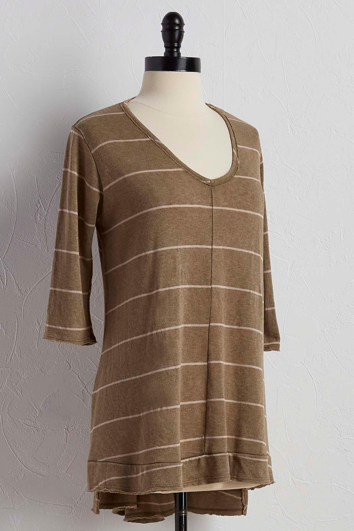Striped Swing Tunic