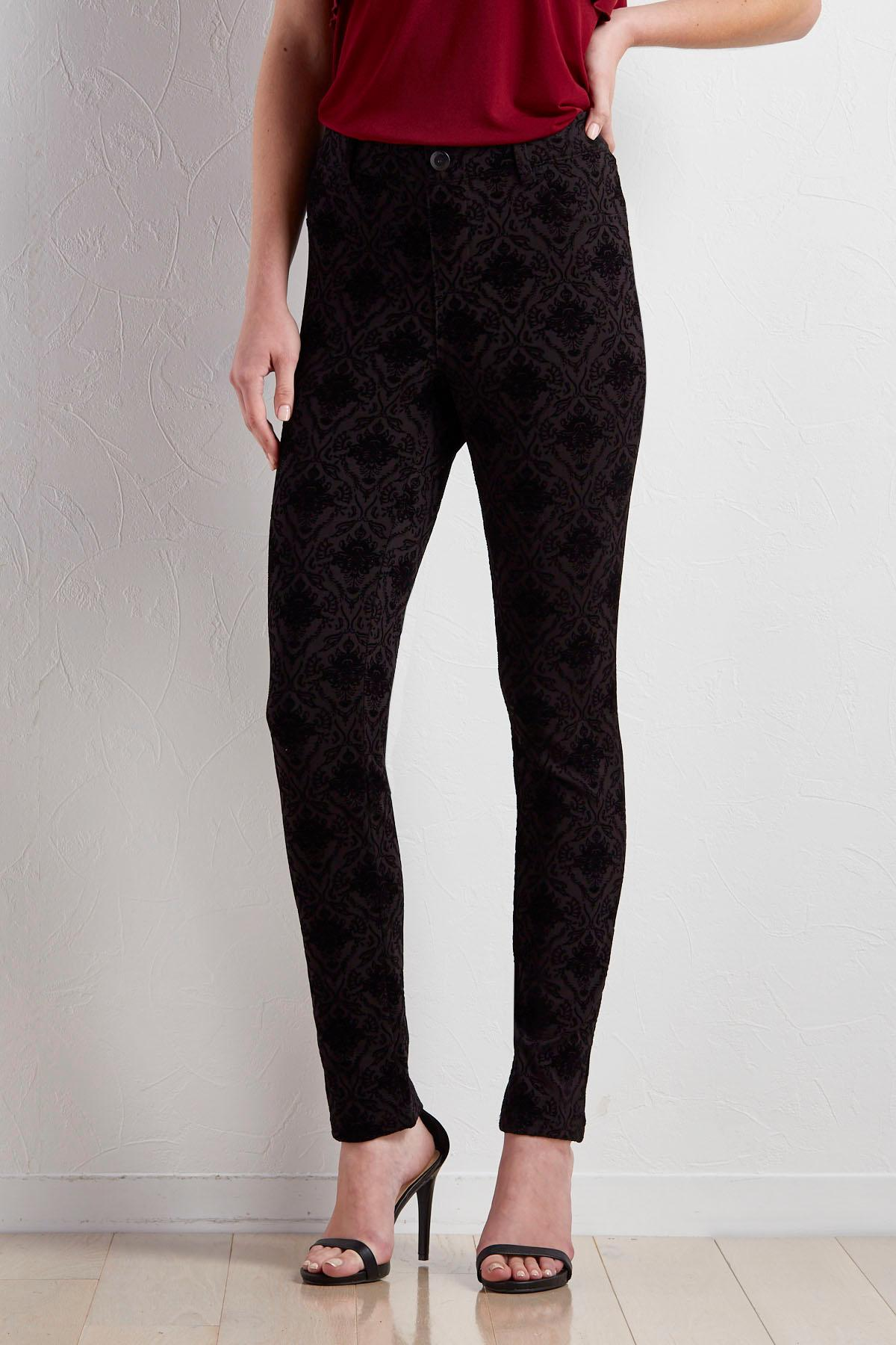Baroque Jacquard Leggings