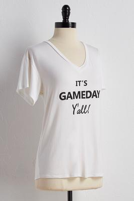 it's gameday graphic tee