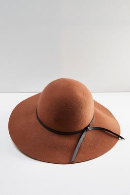knotted band floppy hat