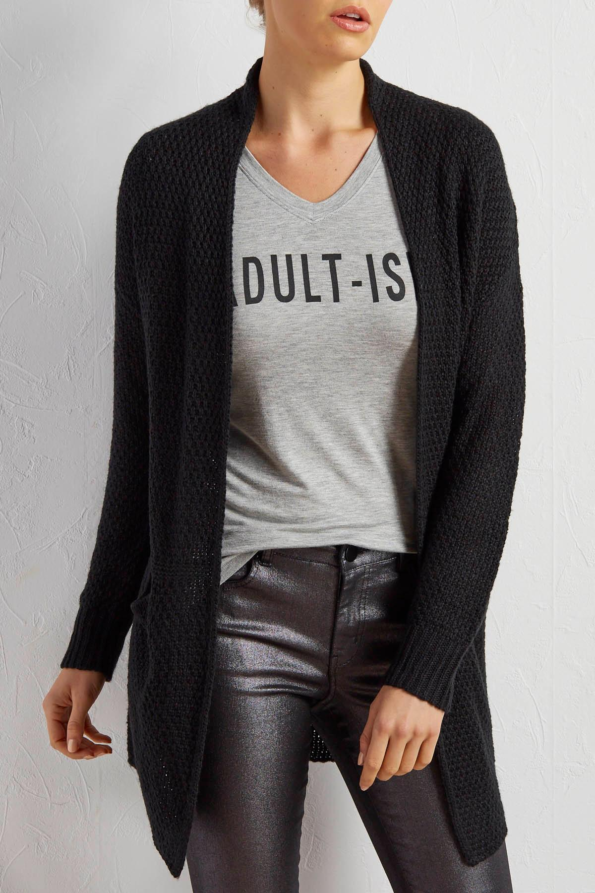 Slouch Pocket Duster Cardigan