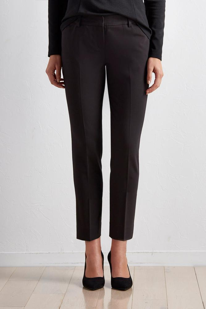 Ivory Ankle Pants