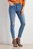 Patch Front Pocket Skinny Jeans