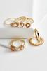 Hematite Stackable Ring Set