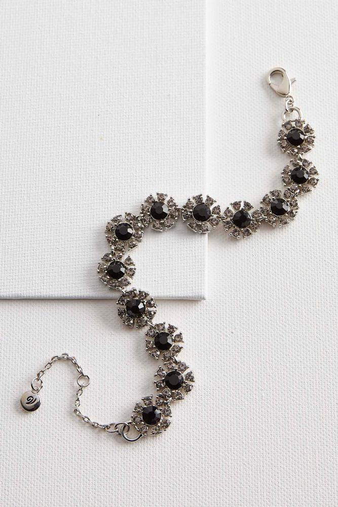 Haloed Stone Bracelets