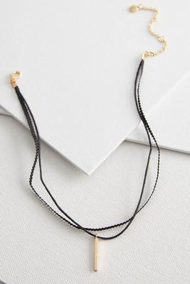 ribbon bar choker