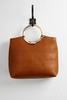 Ring Handle Oversized Clutch