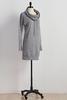 Drawstring Cowl Neck Lounge Dress
