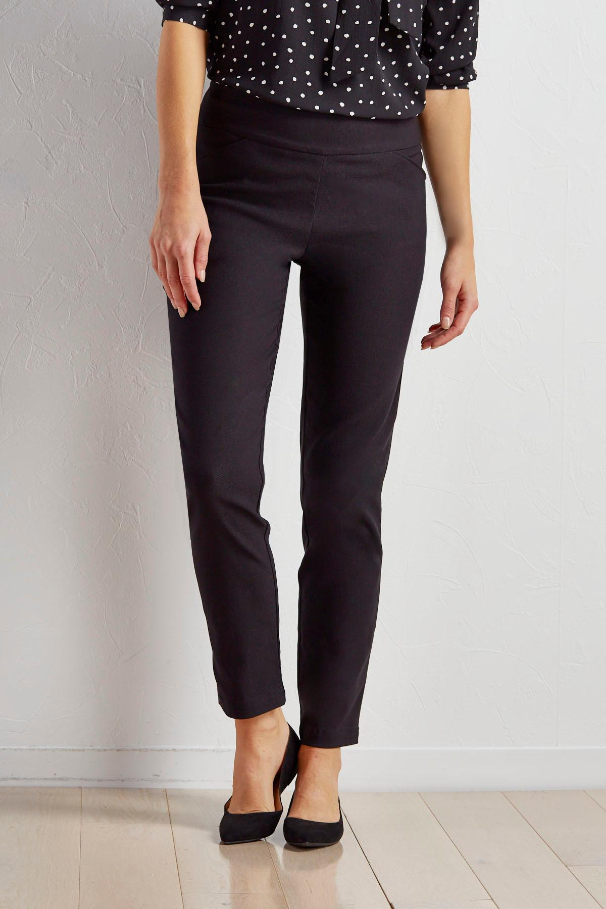 Pull- On Stretch Skinny Pants