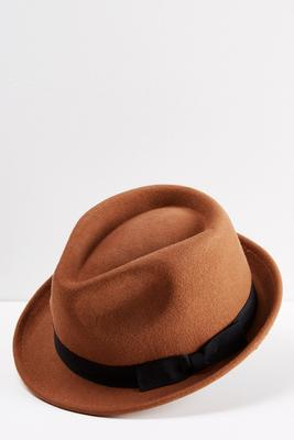 bow band fedora