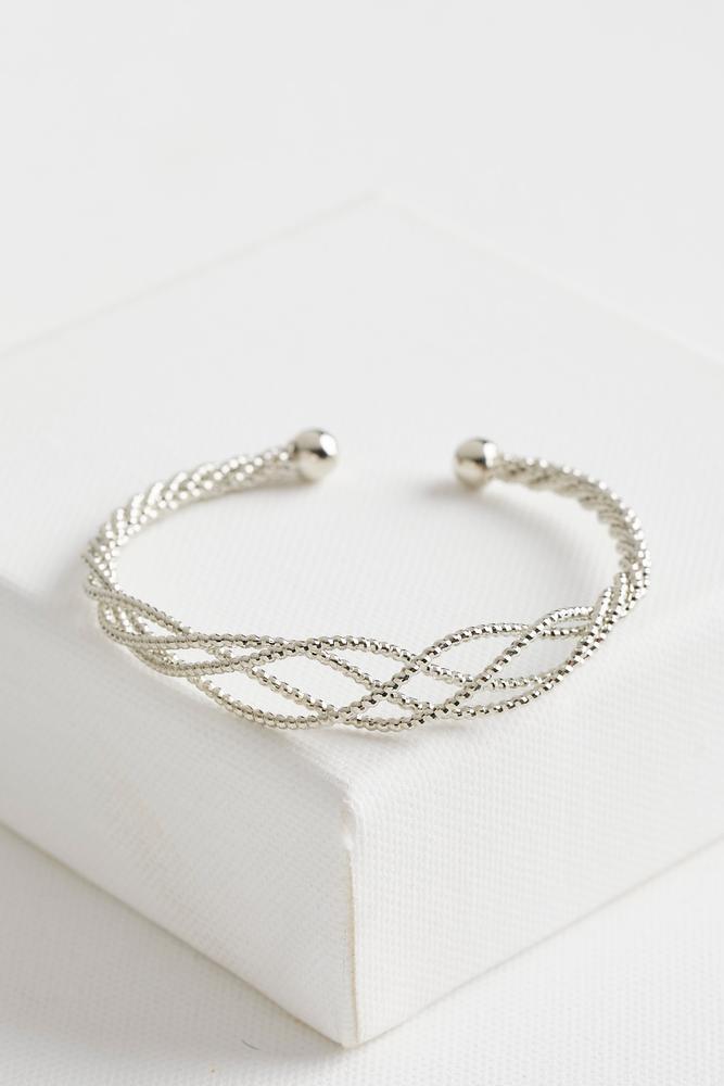 Twisted Metal Cuff Bracelet
