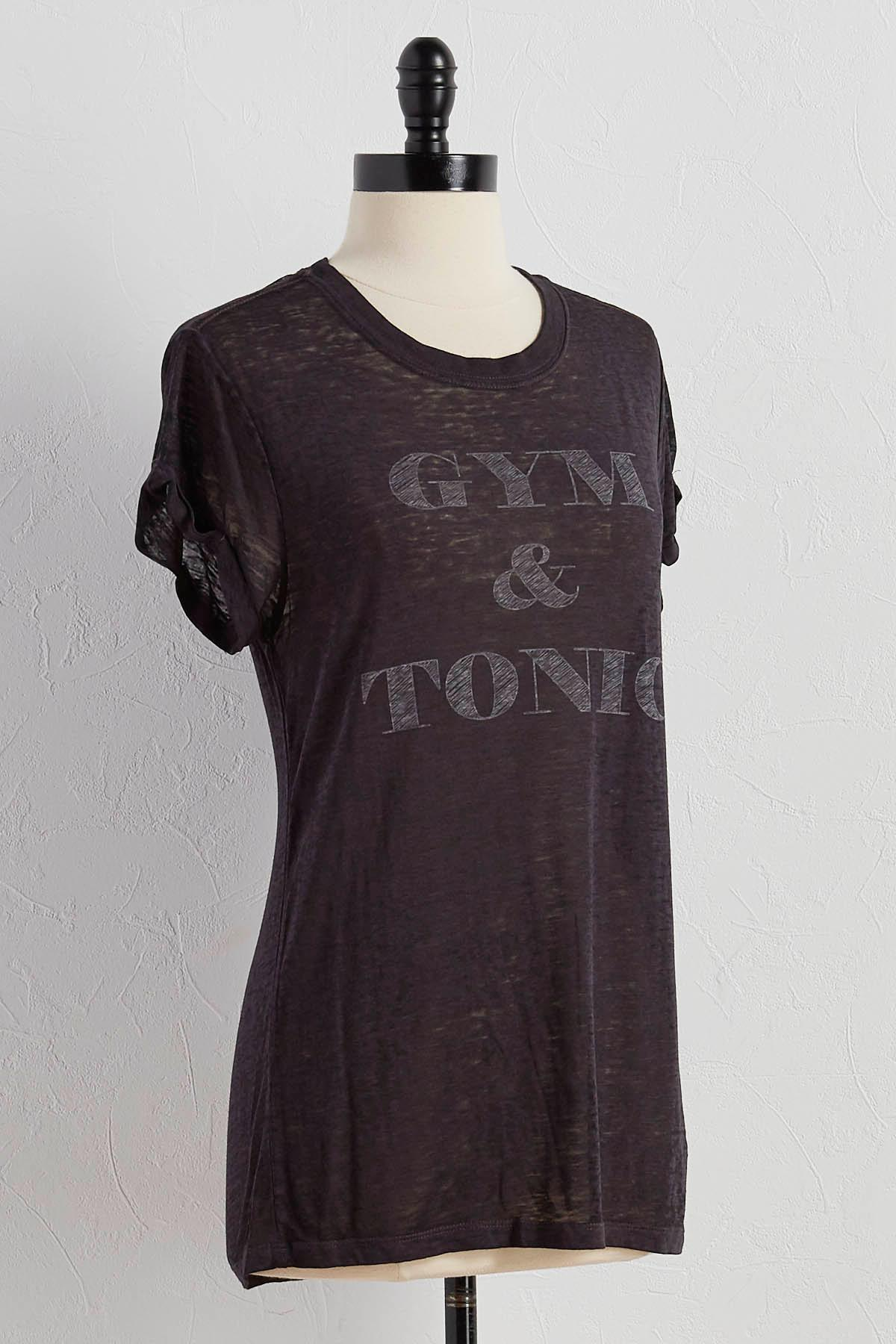 Gym And Tonic Graphic Tee