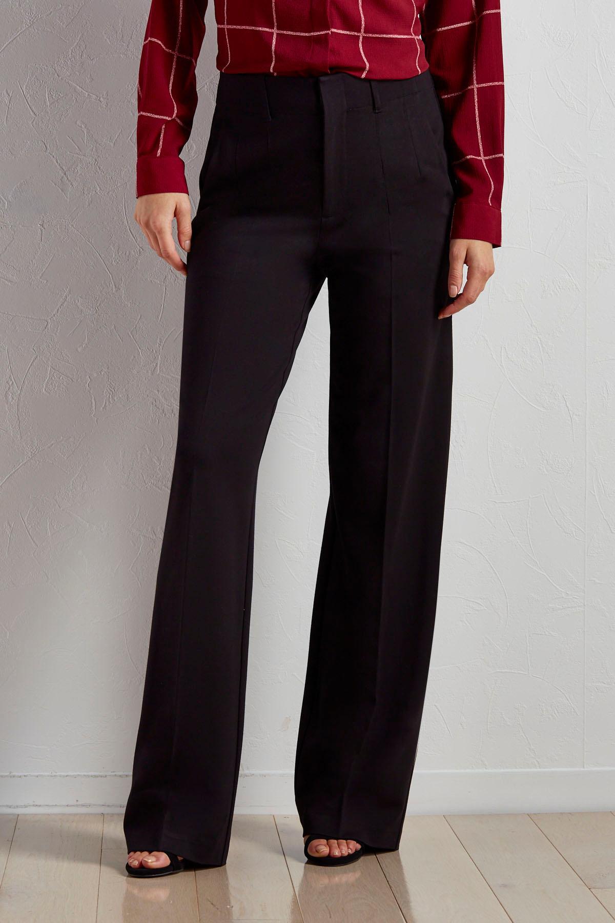 Versona | wide leg ponte pants