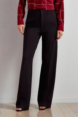 wide leg ponte pants