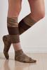 Colorblock Knee High Socks