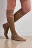 Top Bordered Knee High Socks