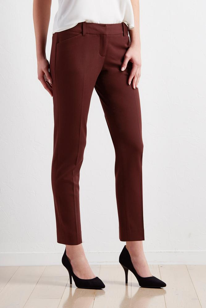 Tailored Ankle Pants