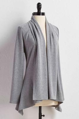 athleisure cardigan