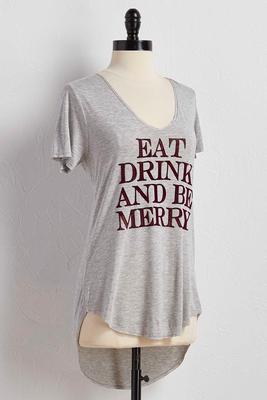 be merry graphic tee