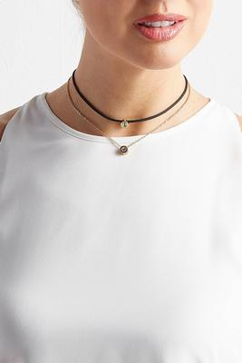 charmed chain cord choker