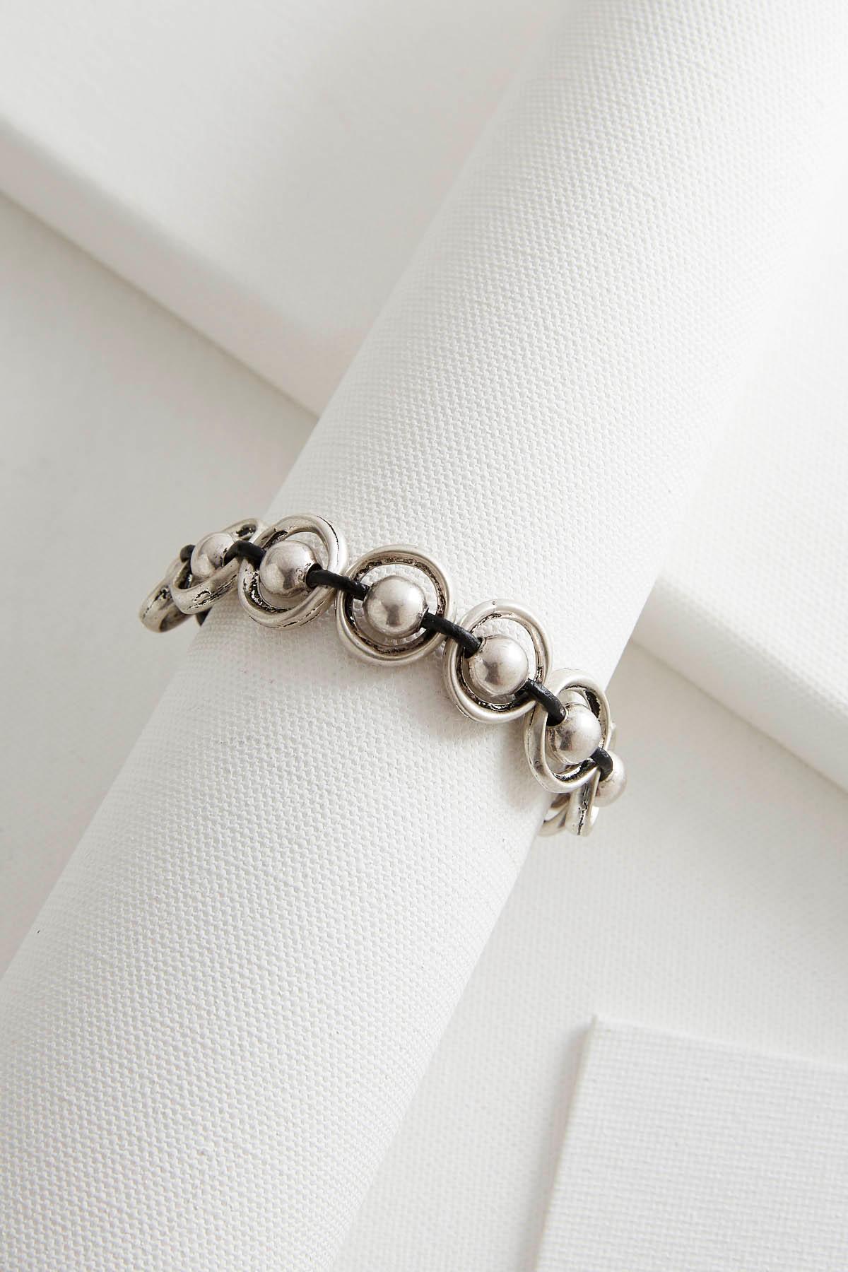 Beaded Ring Toggle Bracelet