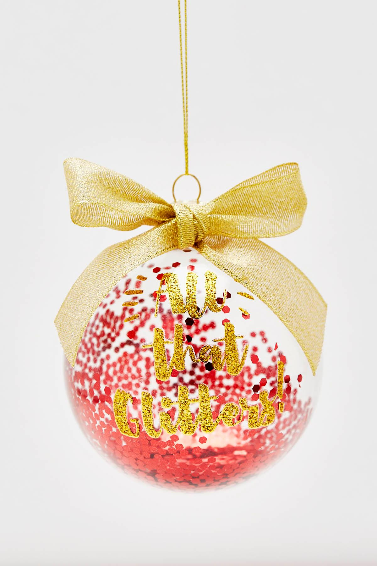 All The Glitters Christmas Ornament