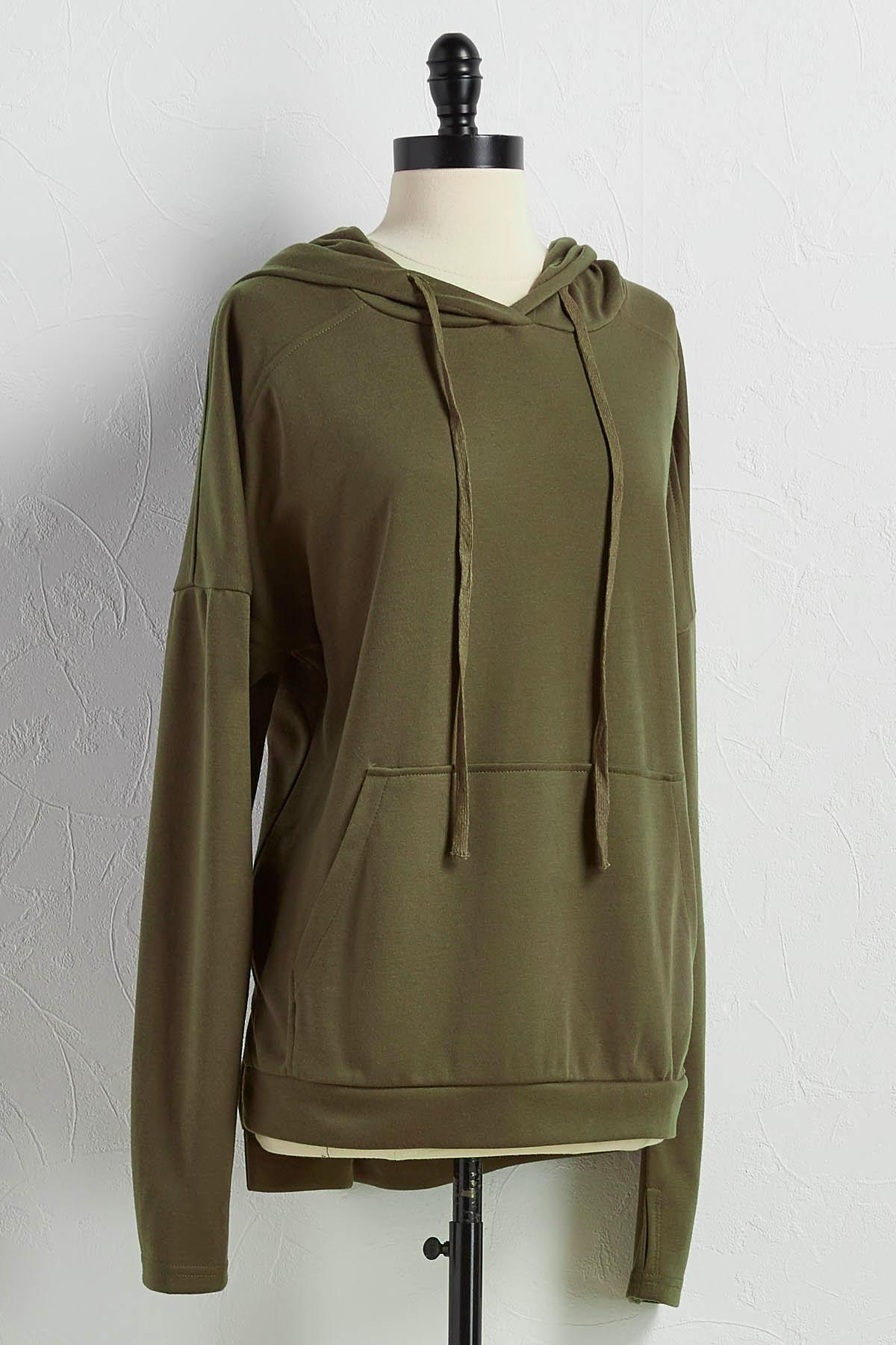 High- Low Lounge Hoodie