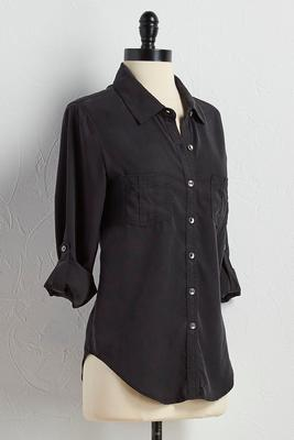 chambray equipment shirt