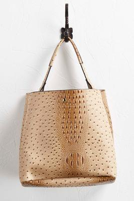 ostrich bag in bag hobo