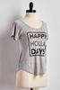 Happy Holla Days Graphic Tee